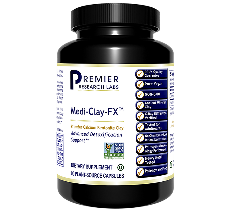 Medi-Clay FX  90 vcaps Premier Calcium Bentonite Clay