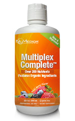 MultiPlex Complete - 32 fl oz Multivitamin, Mineral & Superfood with Organic Aloe Vera