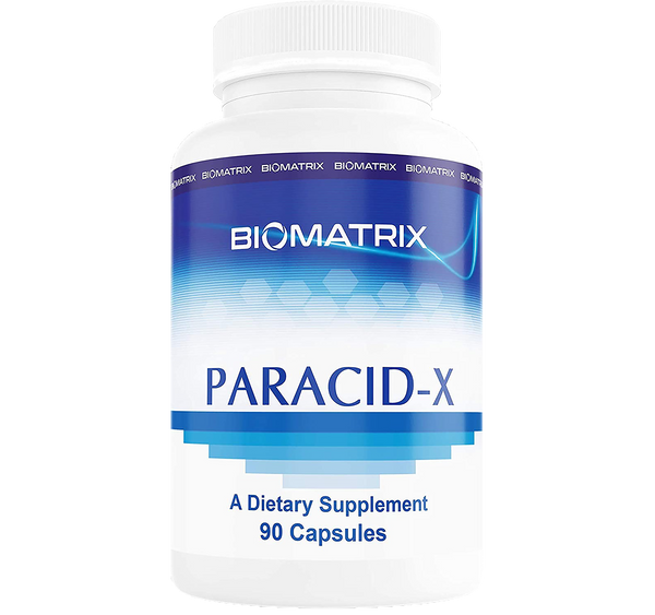 Paracid X 90 cap Biomatrix  Supports Healthy Microbial Balance in the GI Tract