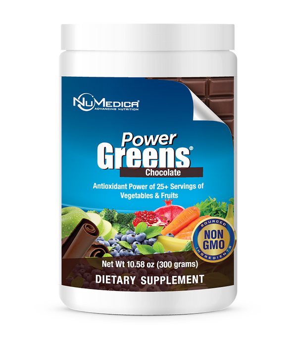 Power Greens Chocolate- 300 g NuMedica