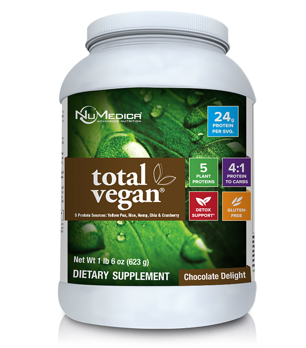 Total Vegan- Chocolate 14 Svg High Quality Vegan Protein NuMedica