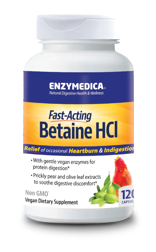 Betaine HCL 120, Enzymedica OUT OF STOCK