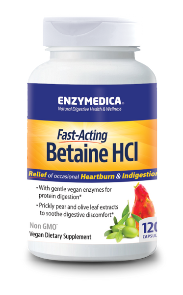 Betaine HCL 120, Enzymedica
