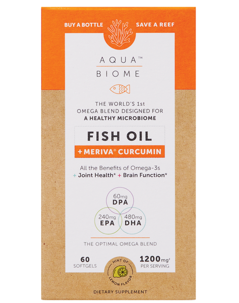 Aqua Biome™ Fish Oil Meriva Curcumin 60