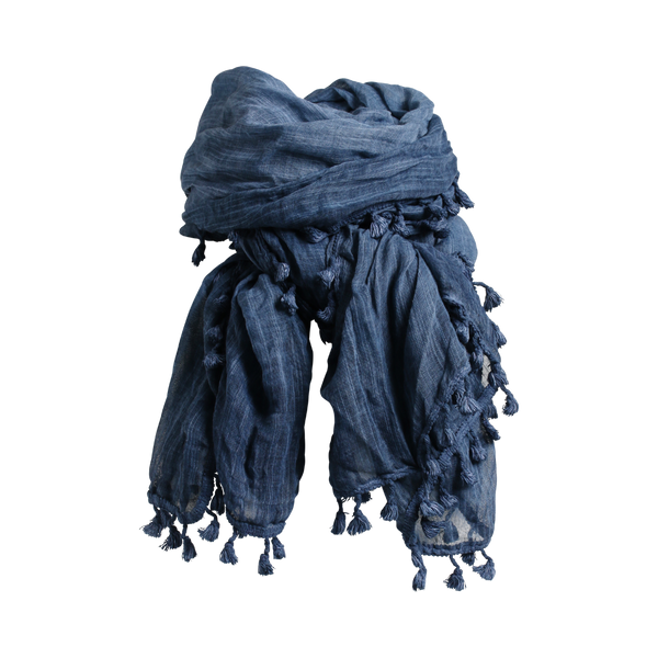ACI SCARF DENIMBLUE