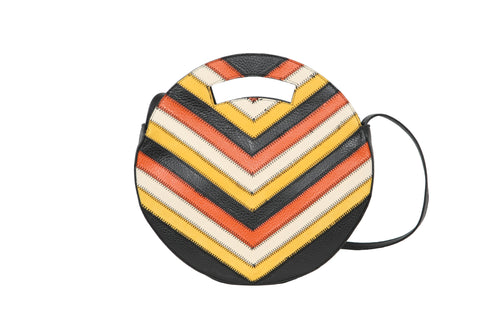 Round Bag Sunflower