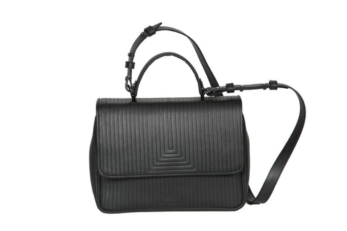The Madrid V Bag - Black Matt