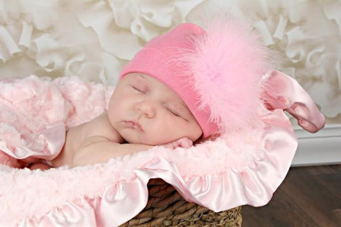 Sweet as Candy Pink Cotton Hat