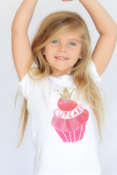 Little Miss Cupcake Fancy Tee