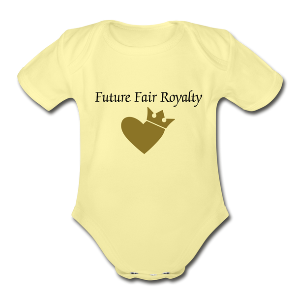 Fair Royalty - washed yellow