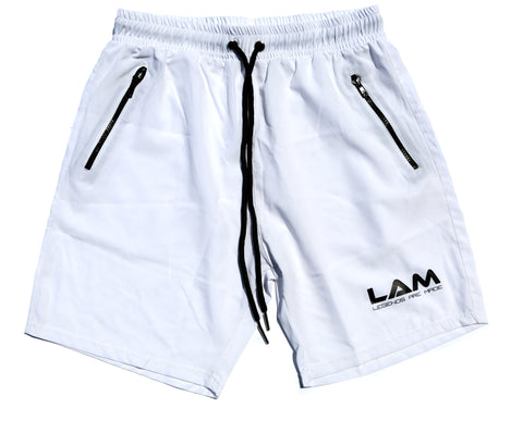 LAM Performance shorts (White)
