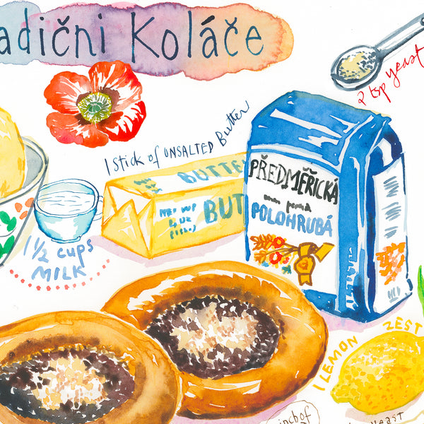 Czech Kolache recipe