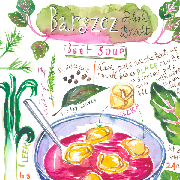Polish Beet soup recipe - Barszcz
