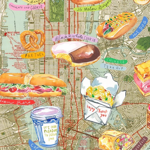 NYC Food Map