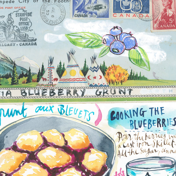 Nova Scotia Blueberry Grunt recipe