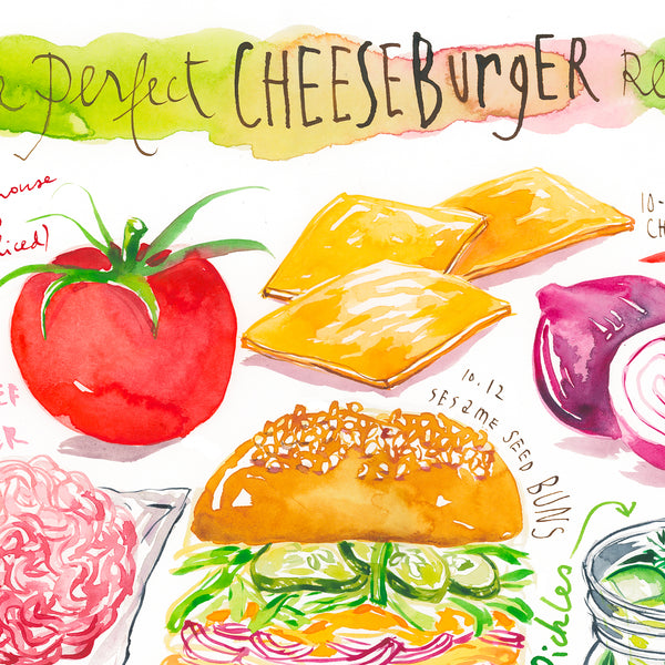 The perfect Cheeseburger recipe