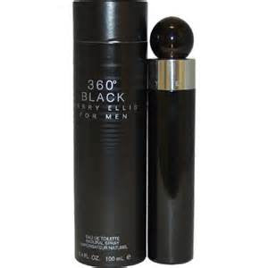 360 Degrees Black for Men (2006)  by Perry Ellis