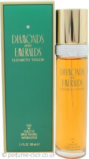 Diamonds & Emeralds (1993)  by Elizabeth Taylor 3.3oz
