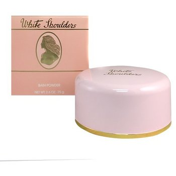 White Shoulders Bath Powder