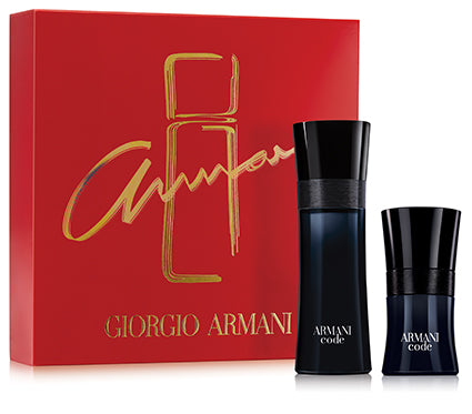 Giorgio Armani Code 2 Piece Gift Set for Men
