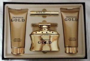 Trovogue Gold 3 Piece Gift Set for Women