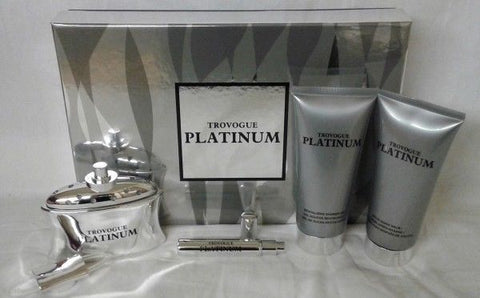 Trovogue Platinum 4 Piece Gift Set For Men