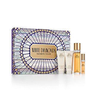Elizabeth Taylor's White Diamonds 4 Piece Gift Set