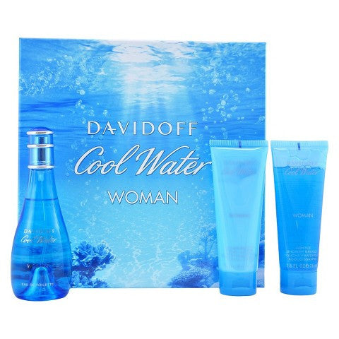 Davidoff Coolwater Woman Gift Set