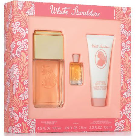 White Shoulders by Elizabeth Arden 3 Piece Gift Set