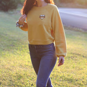 Heart Burger Raglan Sweatshirt