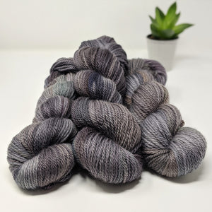 Caitin Sweater: an aran-weight sweater yarn