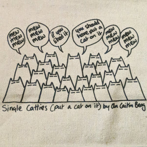 Single catties - project bag