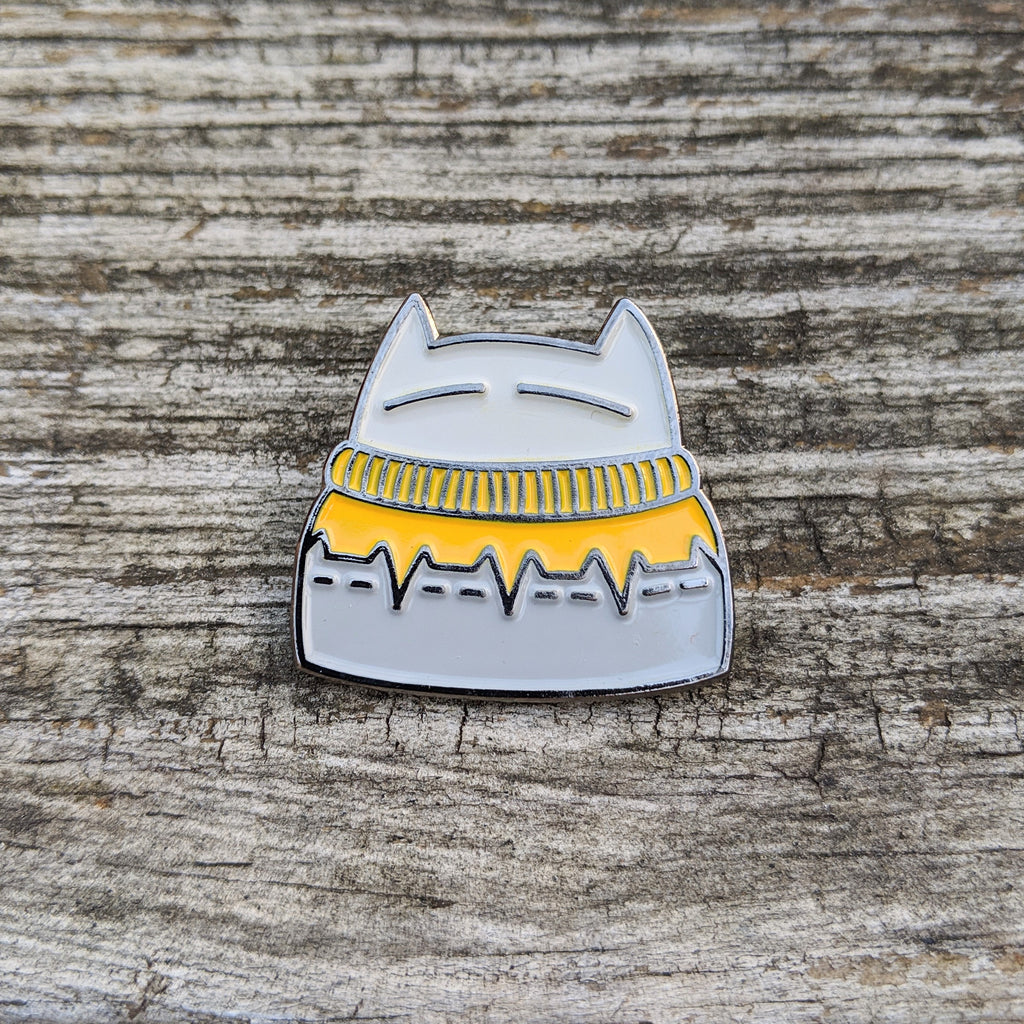 Cat-inna-catsweater Pin