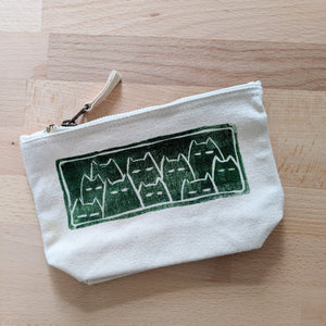 Sinister cats notions pouch