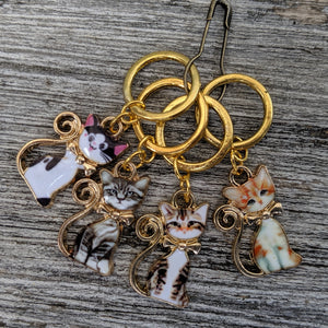 Smart cat stitchmarkers