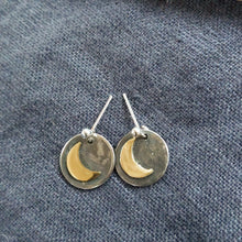 Load image into Gallery viewer, Moon earrings