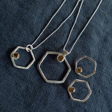 Load image into Gallery viewer, Honeycomb pendant