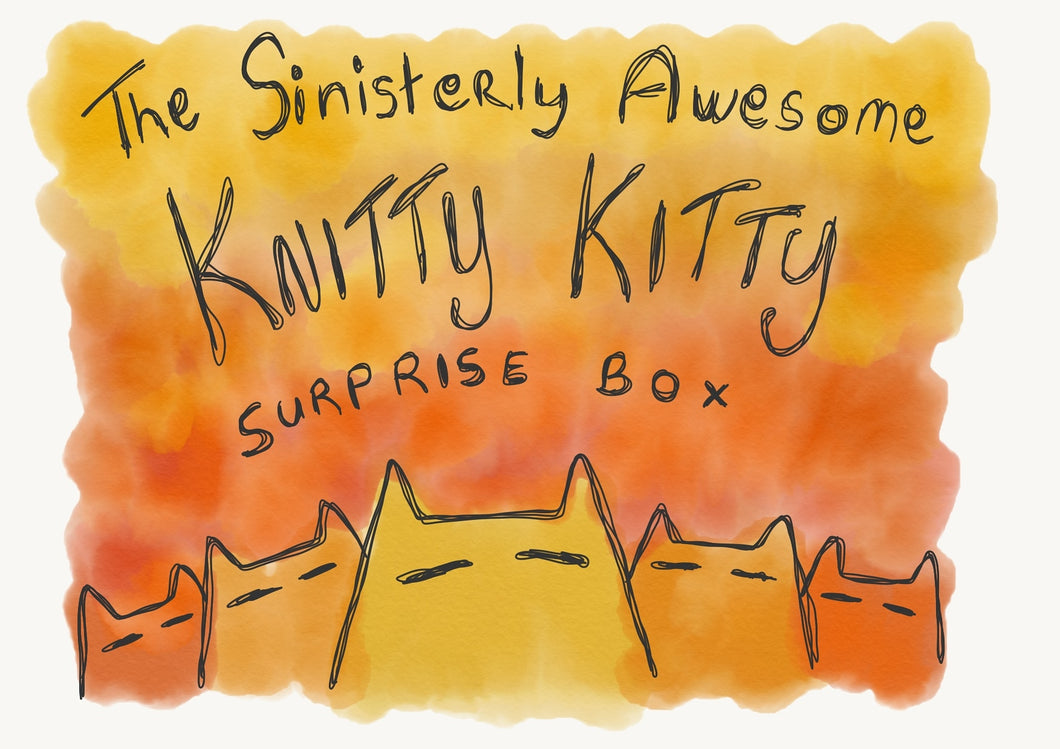 The Sinisterly Awesome KnittyKitty Gift Box