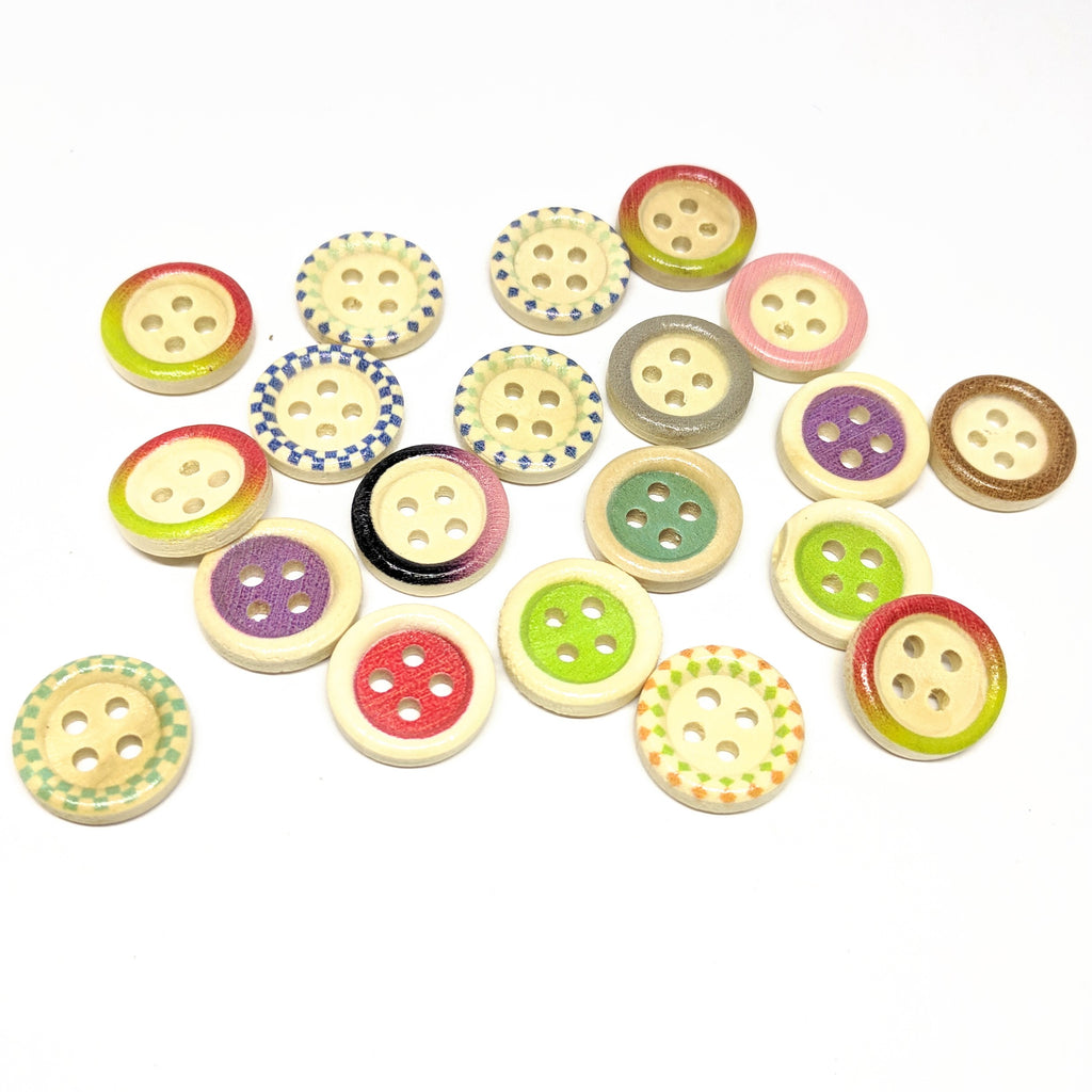 Colour mix buttons