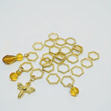 Load image into Gallery viewer, Beekeeper - stitchmarker set