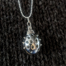 Load image into Gallery viewer, Ladybird stitchmarker pendant