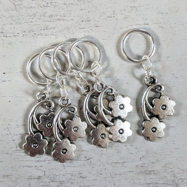 Double bloom stitchmarkers - flower power fund