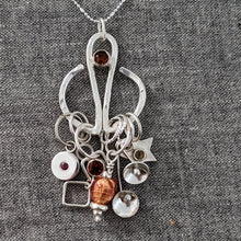 Load image into Gallery viewer, Silver Stitchmarker Advent Calendar (and pendant!) :  2021