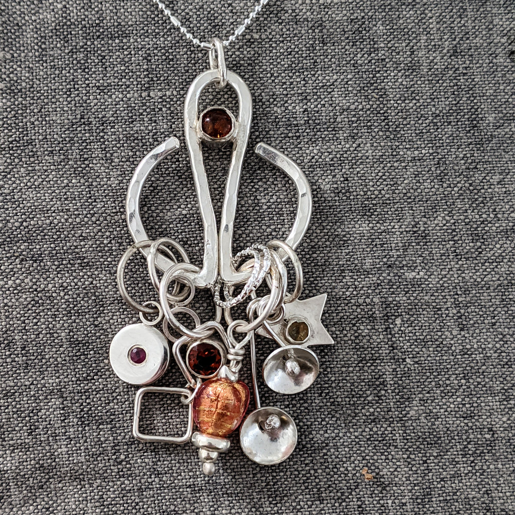 Silver Stitchmarker Advent Calendar (and pendant!) :  2020