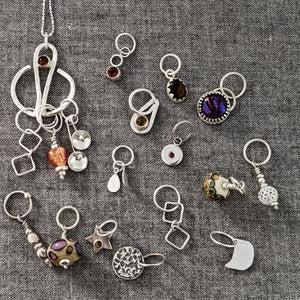 Silver Stitchmarker Advent Calendar (and pendant!) :  2021