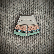 Load image into Gallery viewer, Cat Knits: Cats in knitwear enamel pins