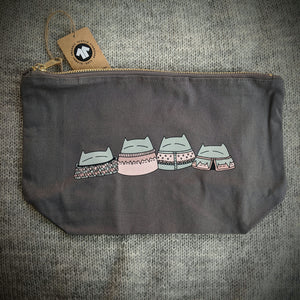 Cat Knits: Project bag