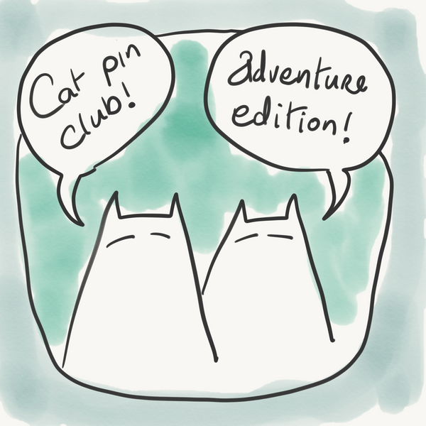 Sinister Cat Adventures - Cat Pin Club
