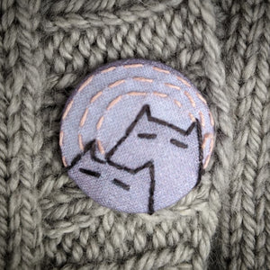 Big Cat Button Kit!