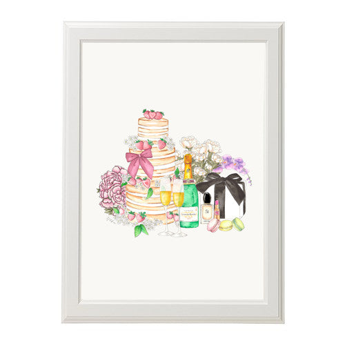 "ART PRINT | ""HAPPY BIRTHDAY"""